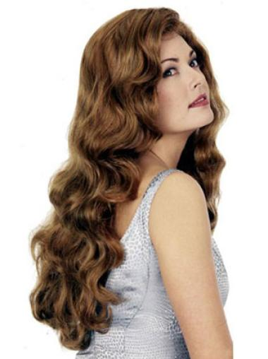 Fishnet Long Blonde Synthetic Wigs