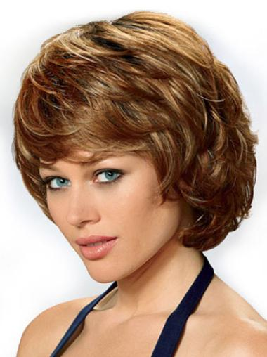 Wonderful Wavy Lace Front Synthetic Wigs