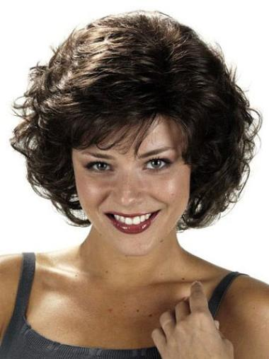 High Quality Short Curly Synthetic Wigs