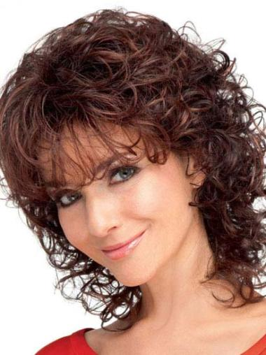 Designed Curly Synthetic Wigs