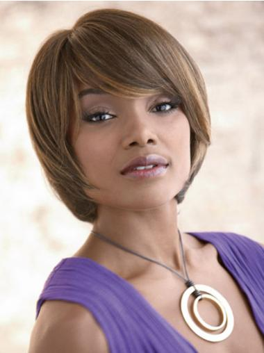 High Quality Blonde Straight Synthetic Wigs