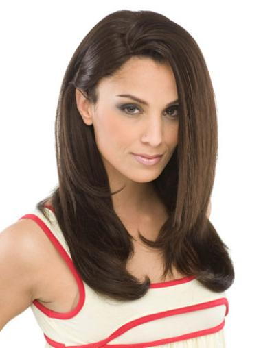 Best Long Brown Straight Synthetic Wigs