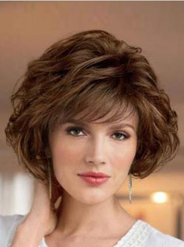 Fashionable Short Wavy Synthetic Wigs