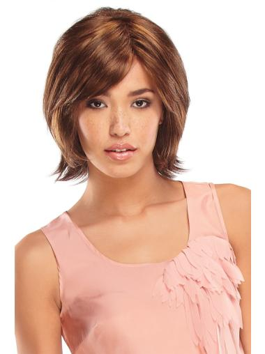 Soft Monofilament Synthetic Wigs