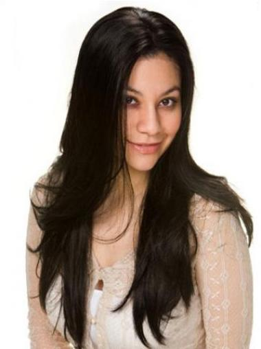 Stylish Remy Human Hair Lace Front Wigs