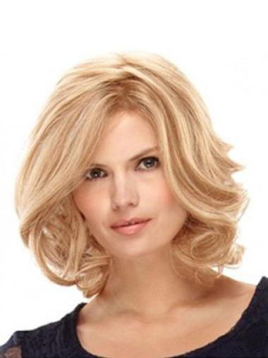 Discount Wavy Synthetic 100% Hand-tied Wigs