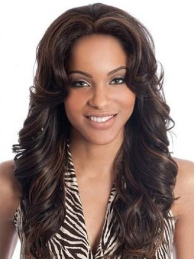 Cheap Long Indian Remy Hair Lace Front Wigs