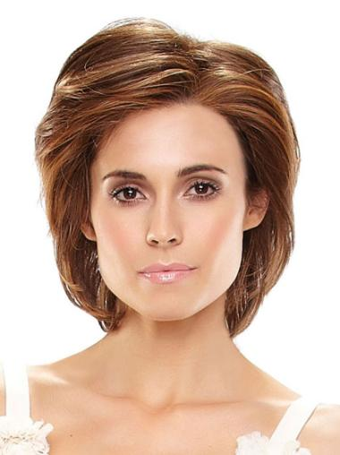 Chin Length Remy Human Hair 100% Hand-tied Wigs