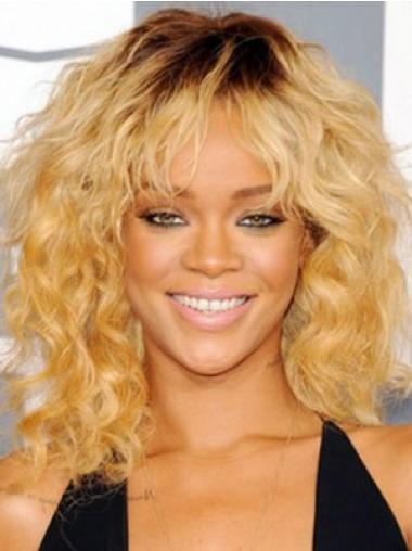 Rihanna Curly Wig