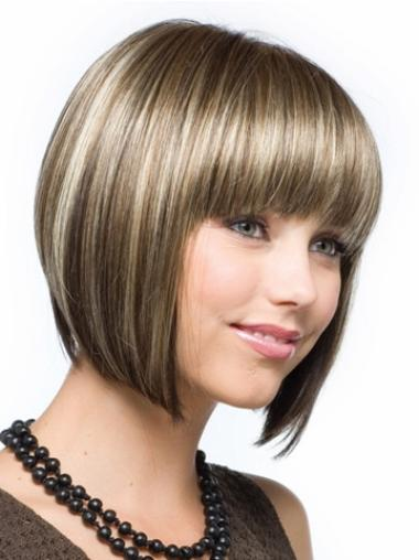 traight Synthetic Short Wigs