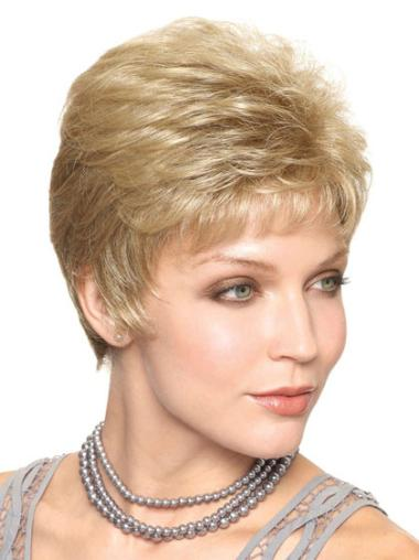 Graceful Synthetic Short Wigs