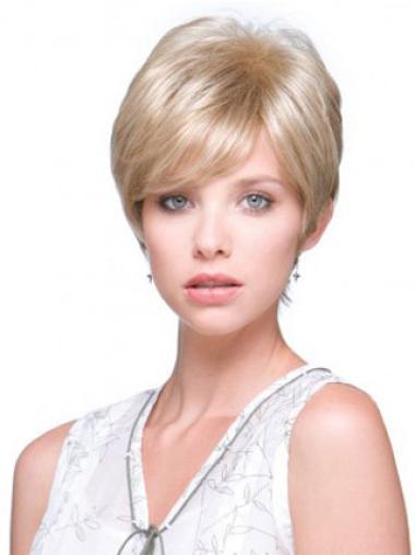 Mono Blonde Short Wigs