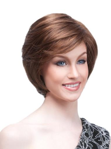 Straight Synthetic Monofilament Wigs