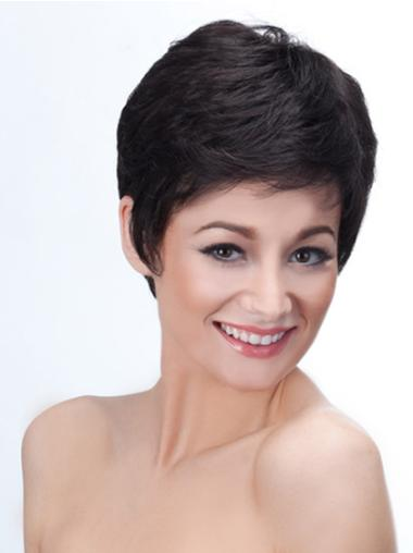 Black Short Hair Wigs