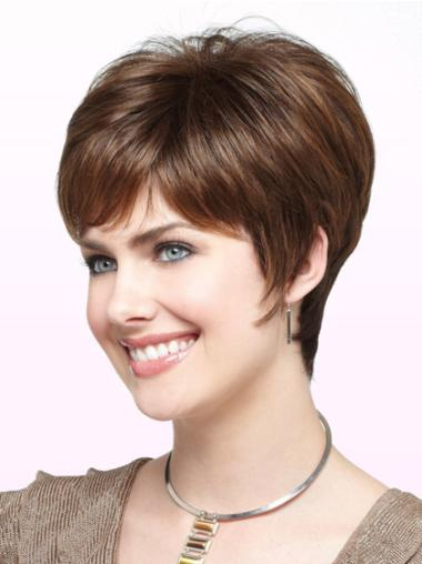 Good Synthetic Monofilament Wigs