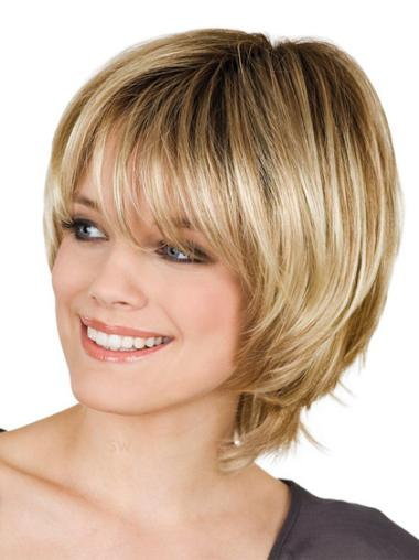 Short Wigs with Bangs