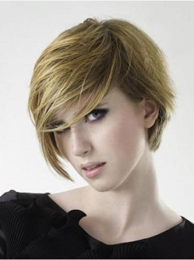 Designed Remy Human Hair Short Wigs