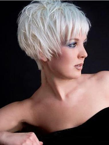 Hairstyles Straight Synthetic Short Wigs