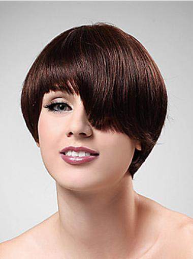 Realistic Synthetic Short Wigs