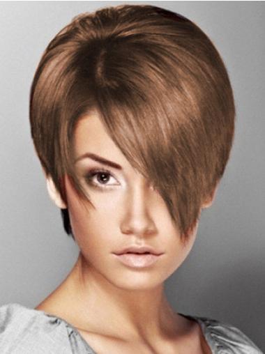 Sleek Synthetic Short Wigs