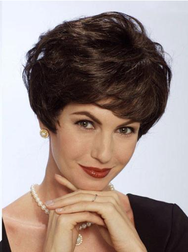 New Short Human Hair Lace Front Wigs