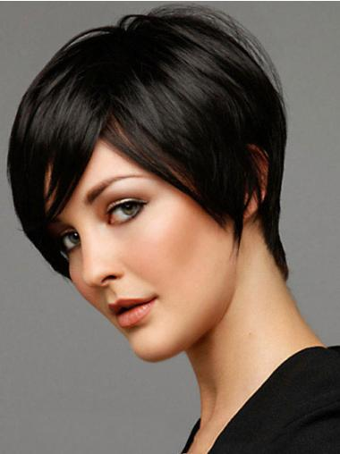 Remy Human Hair Short Wigs