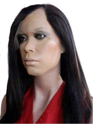 Wonderful Long Remy Human Hair Lace Front Wigs