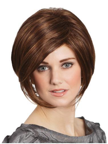 "Auburn Lace Front Straight 10"" Wigs Bob"