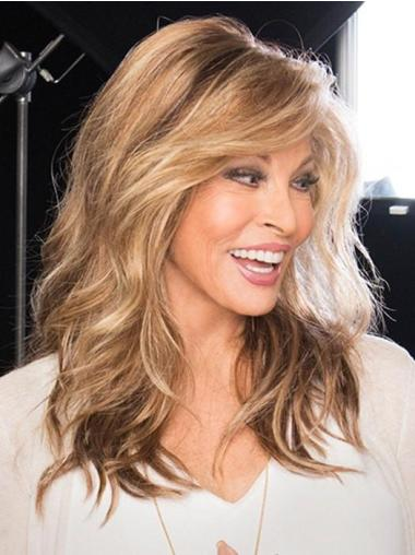 """With Bangs 16"""" Long Brown Monofilament High Quality Wigs"""