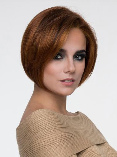 10 Bobs Auburn Monofilament Medium Length Hairstyles