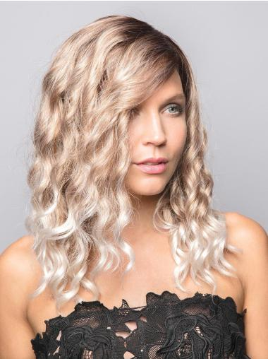 Blonde Long Synthetic 100% Hand-tied Wigs