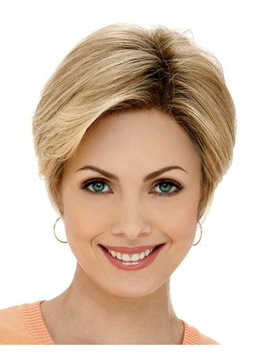 Classy Short Lace Front Synthetic Wigs