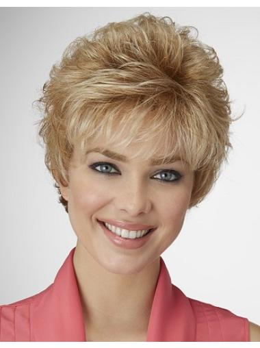 Stylish Curly Synthetic Wigs