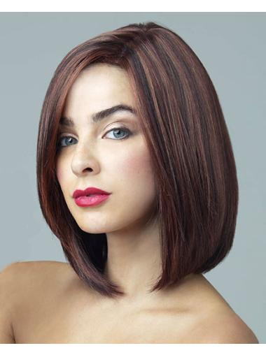 Straight Lace Front Synthetic Bob Wigs