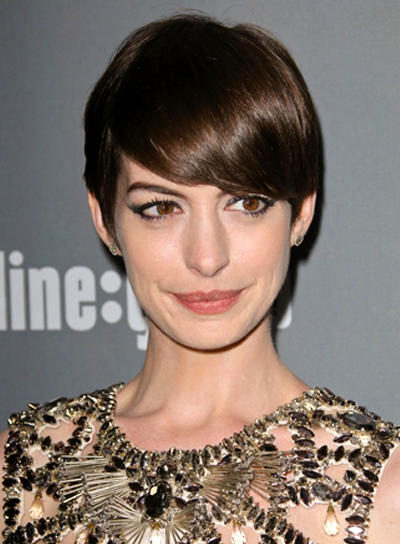Anne Hathaway Human Hair Wigs Celebrity Look Alike Wigs